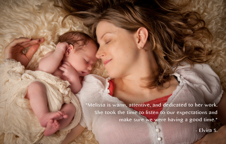 Mommy-and-sleeping-Newborn-Baby